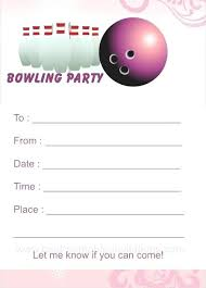 Bowling Party Invitations Stunning Bowling Party Invitations Bowling Party Invitation Template