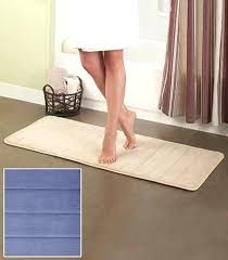 bath runner 72 reversible cotton bath rugs or runners the lakeside collection 72 inch bath rug