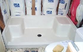 fiberglass shower installation custom shower pans getting right shower pan installation fiberglass shower pans custom shower