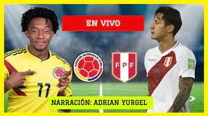 COLOMBIA VS PERU EN VIVO