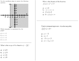 solve absolute value equations and inequalities both algebraically and graphically