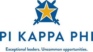 kappa logo wallpaper. pi kappa phi centered name star shield tagline logo wallpaper