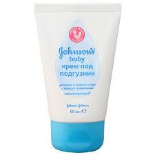 <b>Крем под</b> подгузник <b>Johnson's Baby</b> гипоаллергенный, 50 г ...