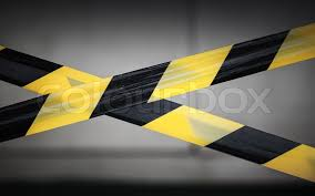 Black And Yellow Stripes Border Black And Yellow Striped Tapes Stock Photo Colourbox