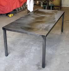 Fabrication table en fer forgé et métal, ferronerie sur mesure ...