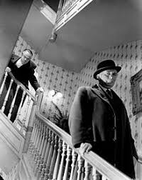 citizen kane  welles fell ten feet while shooting the scene in which kane shouts at the departing boss jim w gettys his injuries required him to direct from a