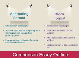 comparison essay outline example comparison contrast essay essay  essay on historical monuments of a good man is hard to essay question discuss both poets compare contrast essay outline