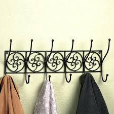 Decorative Wall Mounted Coat Rack Magnificent Decorative Coat Hooks Wall Mounted Image Of Decorative Coat Hooks