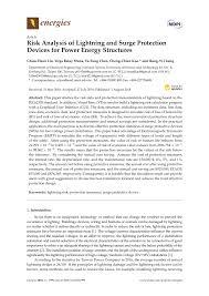 Lightning Protection System Design Calculation Excel Pdf Risk Analysis Of Lightning And Surge Protection Devices