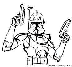 Star Wars Coloring Pages Printable Clone Wars Coloring Pages