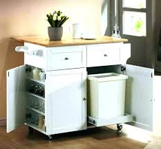 kitchen rolling island butcher block cart bar trolley wood crosley natural top portable in white