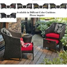 picturesque patio ottoman cushions for house design – Keepcalm