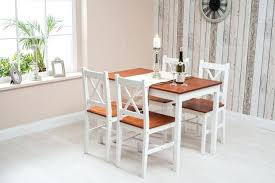 medium size of white solid wood dining table set chairs round pine and 4 furniture maxi