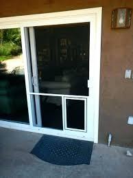 sliding door with dog large for glass insert diy pet do