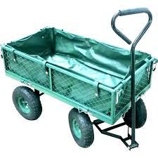 cart gorilla carts garden dump yard wheelbarrows tools the home depot heavy duty poly in addition