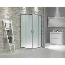 frosted glass shower enclosure. Glass Showers | Buy Frosted Quadrant Shower Enclosure 900 In . C