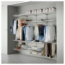 stylish ikea closet idea popular brilliant wardrobe storage system within with regard to your own home pax walk in shelving door office baby linen algot