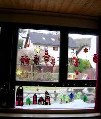 Fensterdeko Im Kindergarten Fensterbild Mit Eulen Basteln