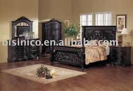 black wood bedroom furniture. Black King Bedroom Furniture Setsclassical Wooden Hand Carving Color Yugztko Wood