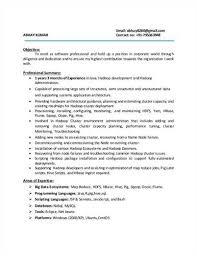 Extremely Hadoop Developer Resume Picturesque Uxhandy Com Resume