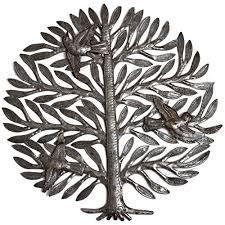 Its Cactus Metal Art Haiti Family Tree Metal Wall Decor