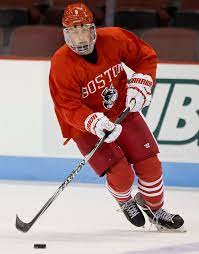 Jack eichel doesn't have a girlfriend right now. Jack Eichel Lifts Bu Over Maine The Boston Globe