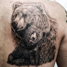 Tattoo Uploaded By Hidden Gem Studio Mama Bear And Cub Tattoo