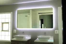 best lighting for vanity. backlit led light bathroom vanity sink mirror best lighting for