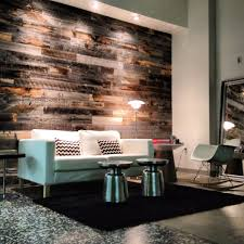 l and stick wood wall covering diy wood walls l and stick reclaimed wood interior design
