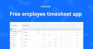 Clockify 100 Free Timesheet Software