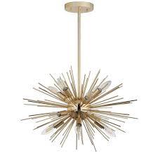 safavieh za 12 light gold sputnik