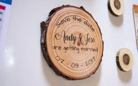 wood slice save the date magnets save the date wooden save the date magnets rustic save the date magnets wood magnet save the date