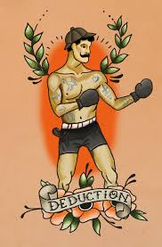 Boxer Box Boxing Tattoo Traditionaltattoo Oldschool Deduction