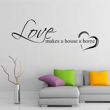 home love family wall art sticker quote decal  on wall art stickers love quotes with home love family wall art sticker quote decal mural transfer graphic
