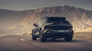 2021 Black Aston Martin DBX 4K Ultra HD ...