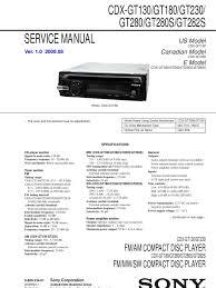 sony cdx gt wiring diagram sony wiring diagrams cars cdx gt130 wiring diagram cdx home wiring diagrams