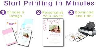 Make Your Own Christening Invitations Customized Invitations Free