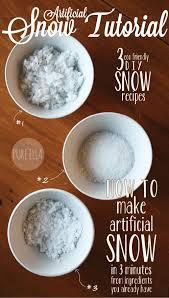 amp; To Easy Snow Artificial Eco-friendly 'recipes' - Make 3 Pure Ella Quick How