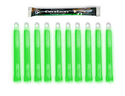 Cyalume Chemical Light Sticks Cyalume Chemlight Military Grade Chemical Light Sticks