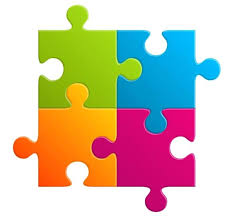 Blank Puzzle Template Piece Shapes Image High Free Single Jigsaw ...