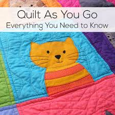 Quilt As You Go – Everything You Need to Know   Dandy, Easy and ... & A Collection of the Best Quilting Blogs. Get the Top Stories on Quilting in  your Adamdwight.com