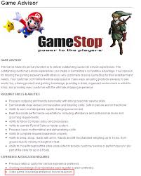 Gamestop Resume Template Best of Gamestop Cover Letter Fastlunchrockco