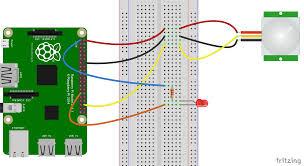 motion sensor surveillance camera using azure storage (c Usb Web Camera Wiring Diagram circuit diagram for pir and led web camera wiring diagram