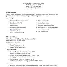 Medical Assistant Resume Samples Templateles Cv Cover Job For Office ...