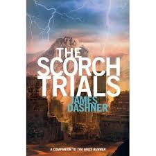 book review the scorch trials by james dashner