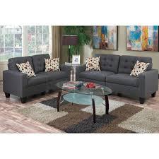 gray living room set. zipcode design amia 2 piece living room set \u0026 reviews | wayfair gray