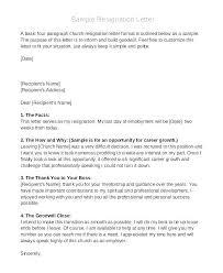 My Resignation Letter Resignation Letter Simple Putasgae Info