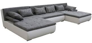 Big Sofa U Form Edle Design Wohnlandschaft U Form Mega Big