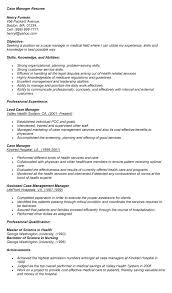 ... Case Management Resume Samples within [keyword ...
