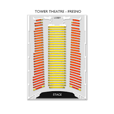 Tower Theater Seating Chart Tower Theatre Fresno 2019 Seating Chart